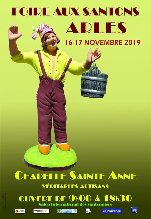 Foire aux Santons Arles à la Chapelle Sainte Anne