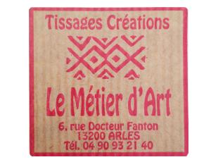 le métier d'art à Arles tissages créations en laine