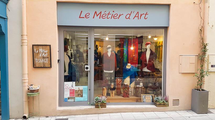 Le Métier d'Art à Arles créations en laine