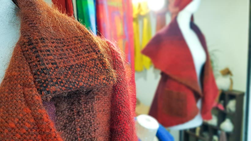 Le Métier d'Art à Arles créations de laine