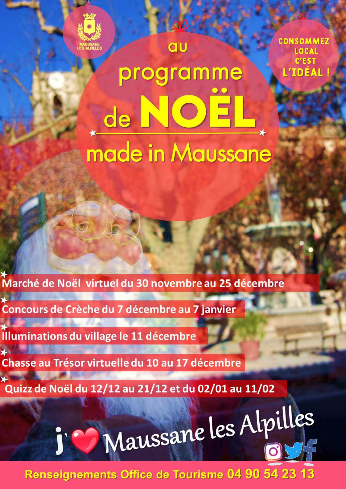 fêtes de Noël 2020 à Maussane