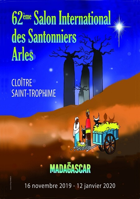 Salon international des Santonniers 2019 à Arles au cloître Saint Trophime