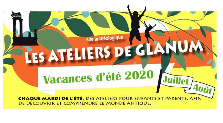 ateliers de Glanum Saint Rémy de Provence