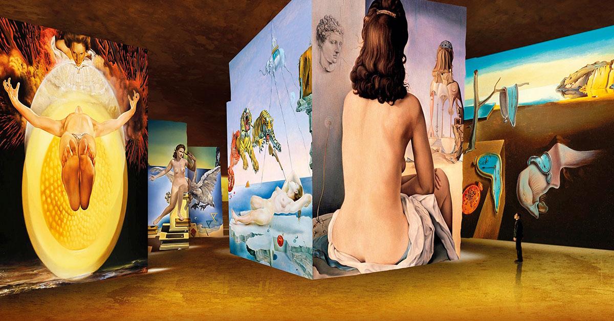 exposition Dalì aux Carrières de Lumière