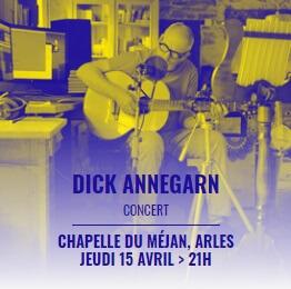 festival Les Suds en Hiver 2021 à Arles - concert Dick Annegarn à la chapelle du Méjean