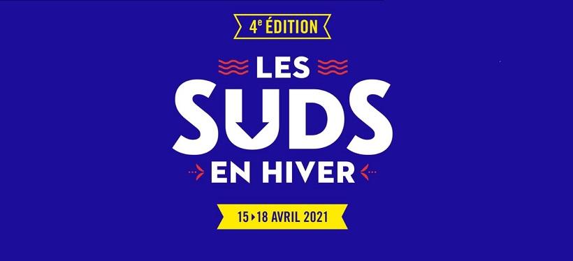 Affiche festival Les Suds en Hiver 2021 à Arles