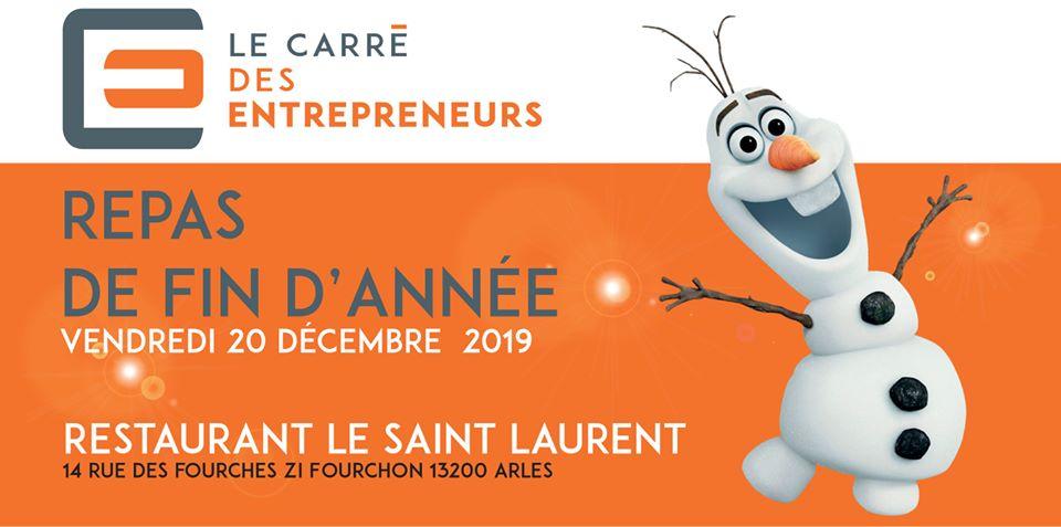 repas fin d'année du Carré des Entrepreneurs d'Arles
