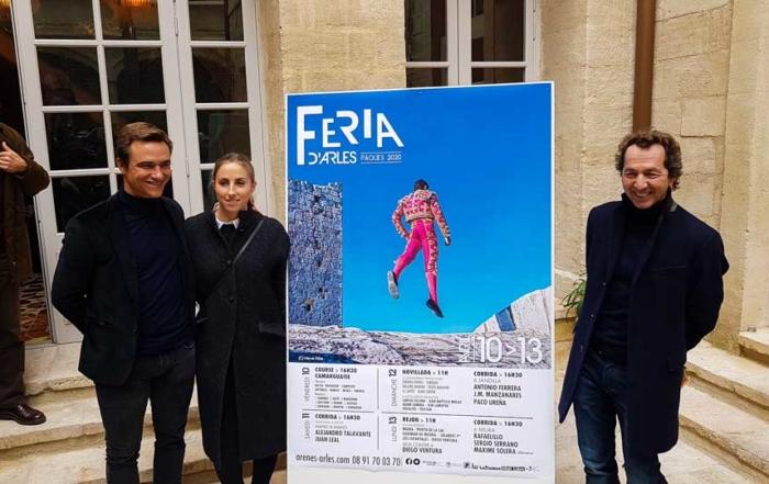annonce des cartels des férias d'Arles 2020 à l'Hôtel Arlatan