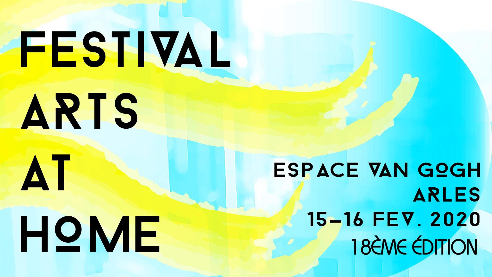 festival arts at home 2020 à Arles