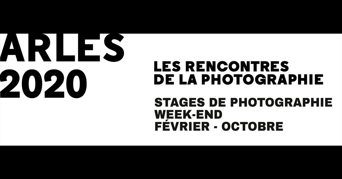 stages de photographie 2020 à arles