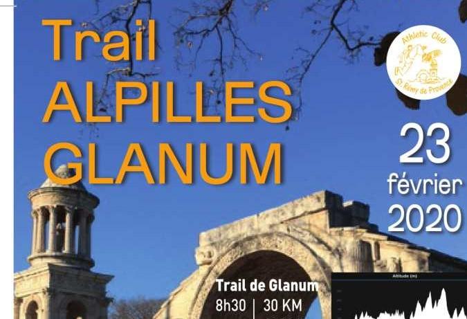 trail glanum Alpilles Saint Rémy de Provence