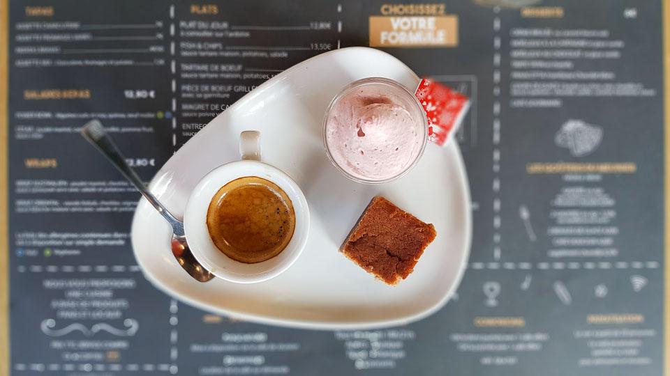 Desserts Maison au restaurant la Meunerie Arles