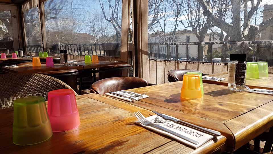 café brasserie avec terrasse à Arles - Le Wilson