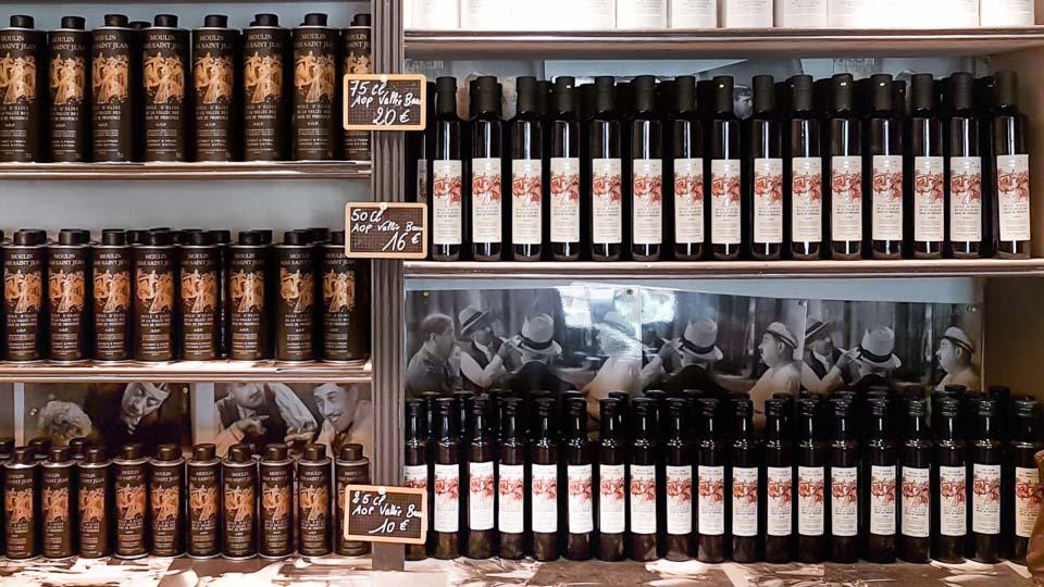 huile d'olive AOP Vallée des Baux Alpilles Mas Saint Jean