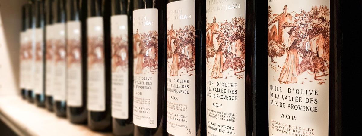 Moulin à huile Alpilles Mas Saint Jean - Huile d'olive AOp Vallée des Baux