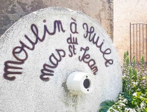 Moulin à huile du Mas Saint Jean à Fontvieille