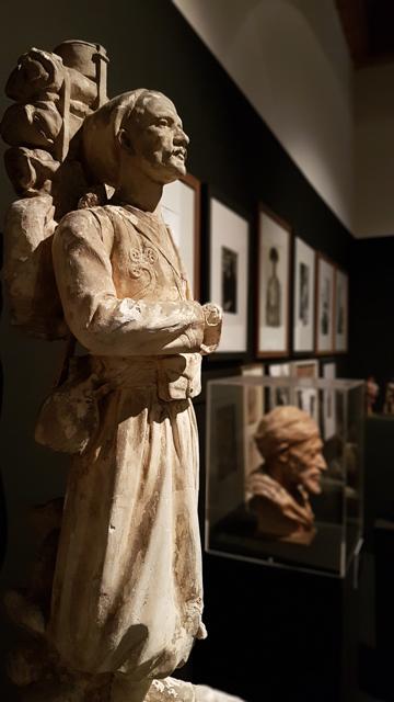 visite de l'exposition La Boite de Pandore au musée Réattu à Arles