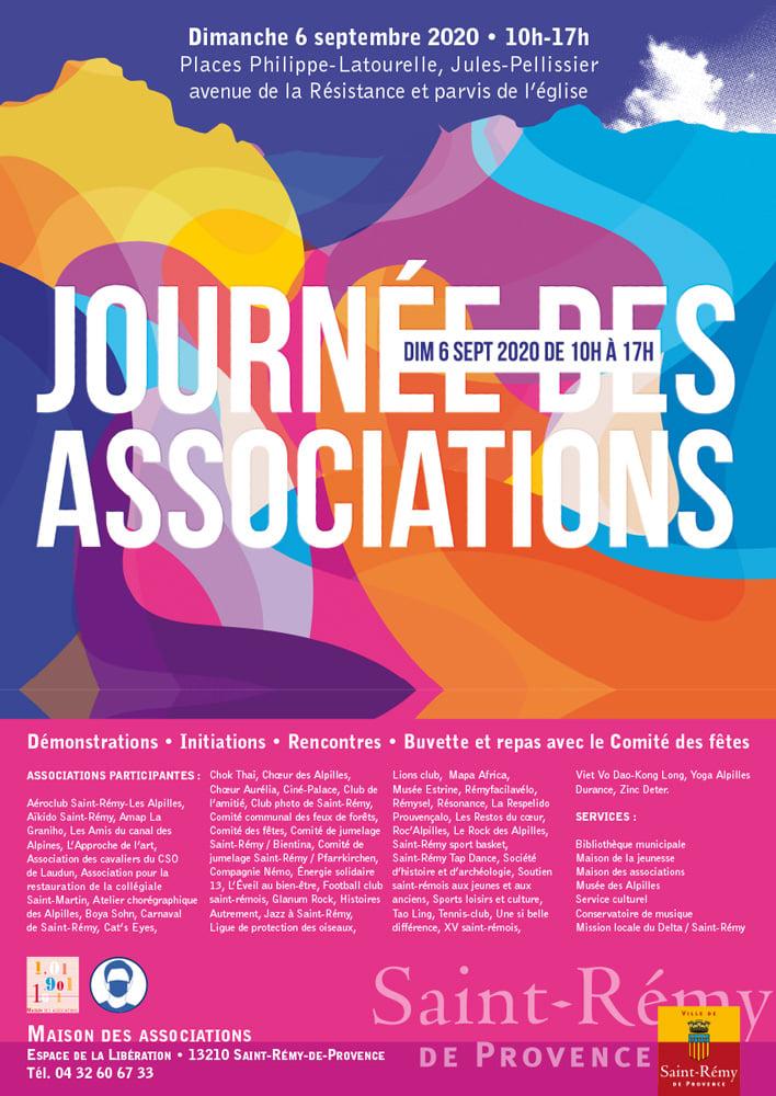 journée des associations 2020 à Saint Rémy de Provence