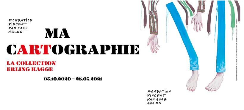 Exposition Ma Cartographie - Collection Erling Kagge 2020/2021 à la Fondation Van Gogh à Arles