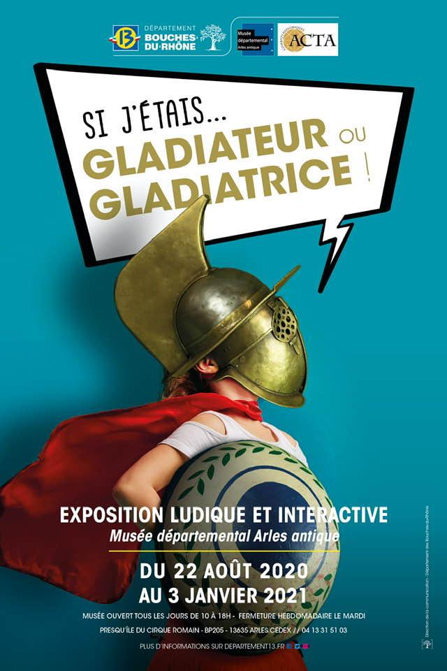 exposition si j'étais gladiateur à Arles