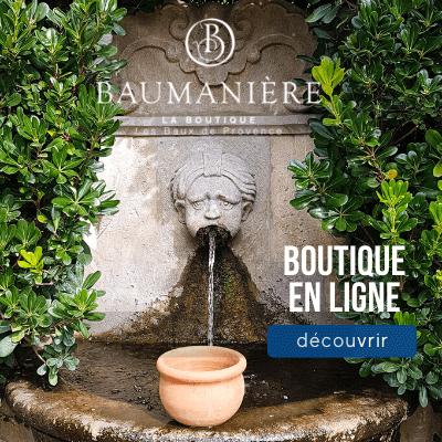 boutique Baumanière Baux de Provence Alpilles - Déco, mode, gastronomie, bien être