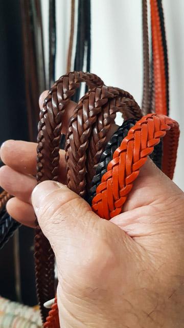 Bracelet cuir artisanal à Arles - Atelier MilsixBracelet cuir artisanal à Arles - Atelier Milsix