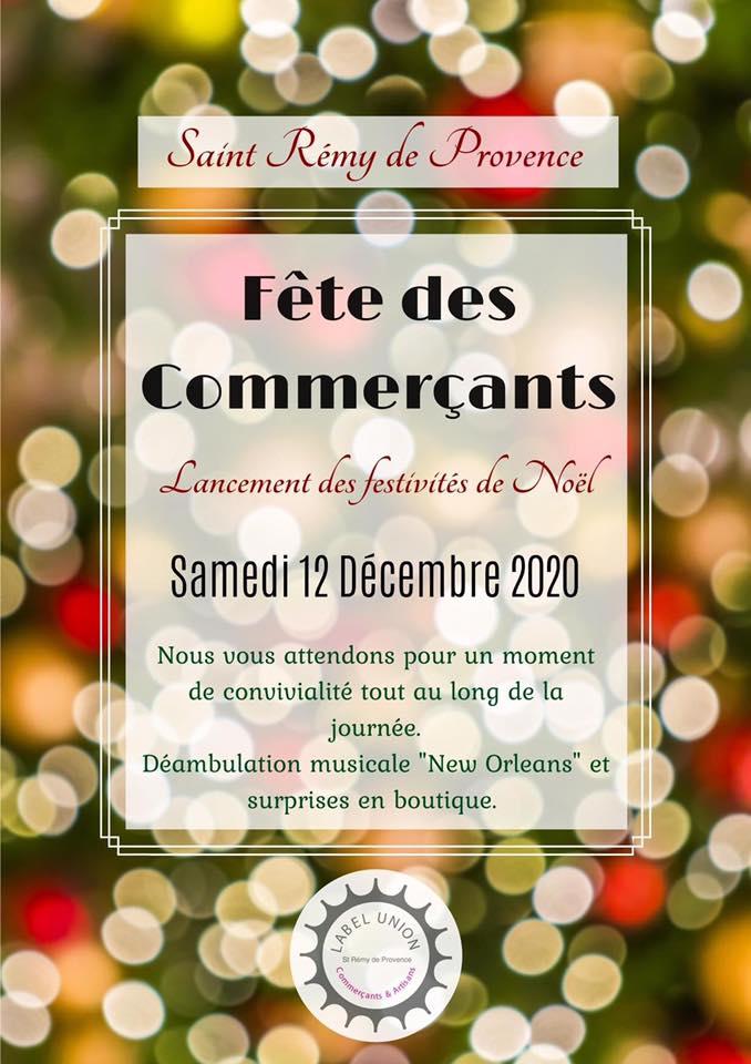 fête noël des commerçants à Saint Rémy de Provence
