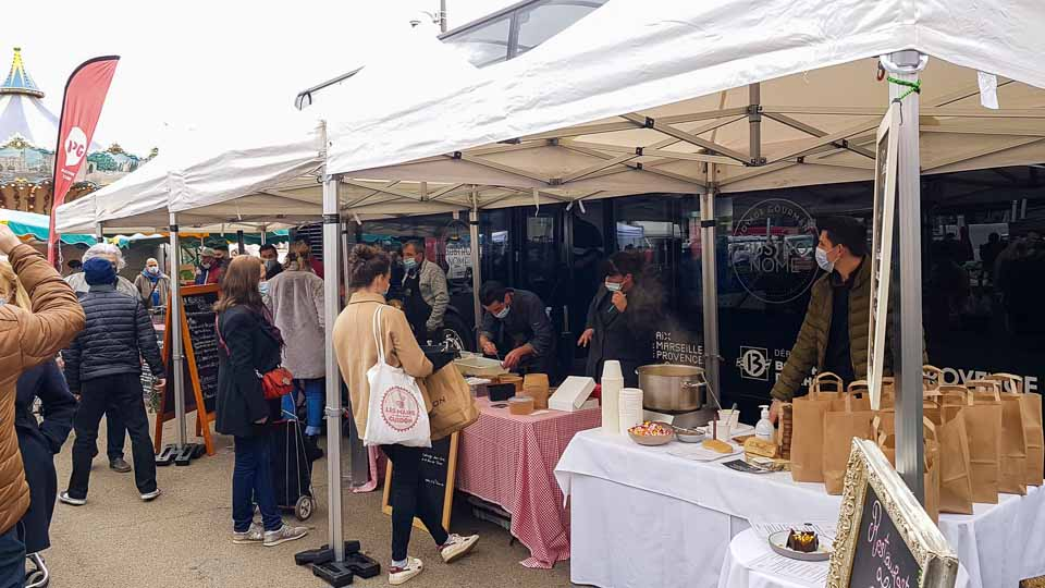 soutien aux restaurants et chefs arlésiens - Le Bustronome à Arles en janvier 2021
