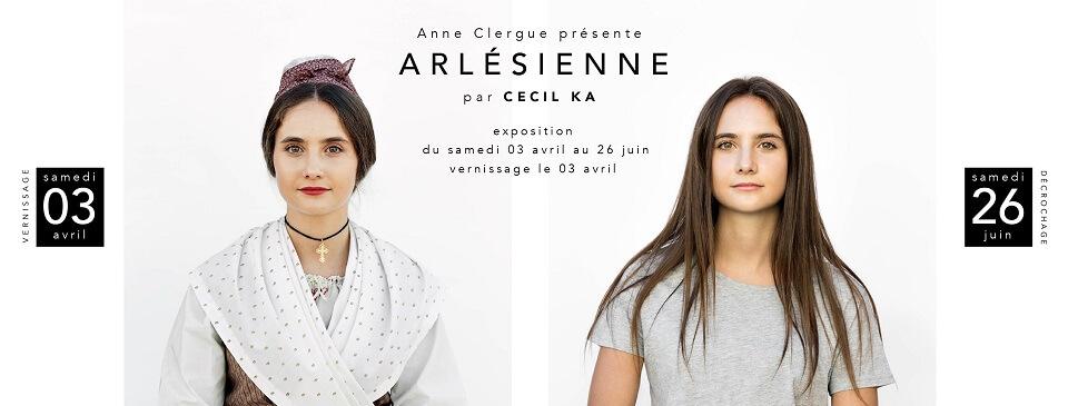 Expo photo Arlésienne de Cécile Ka à la galerie Anne Clergue à Arles du 3 avril au 26 juin 2021