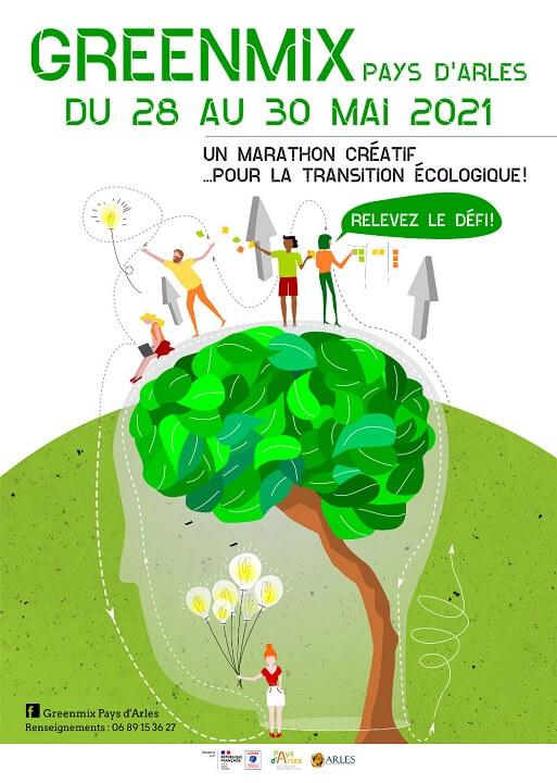 Greenmix 2021 à Arles : le marathon créatif aui service de la transition écologique en Pays d'Arles