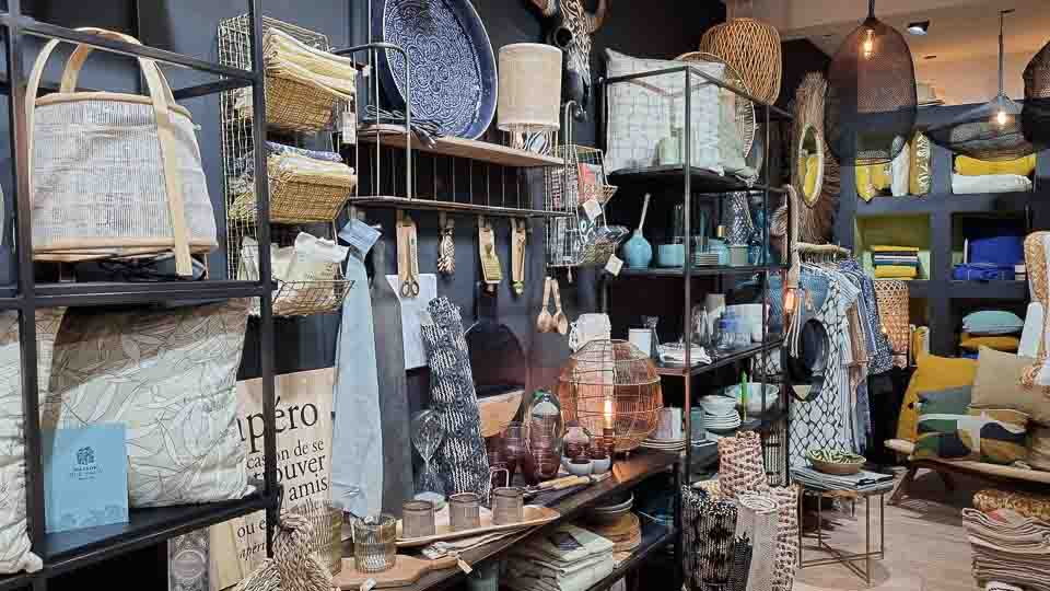 Boutique Yoko concept store déco mode art de vivre à Arles
