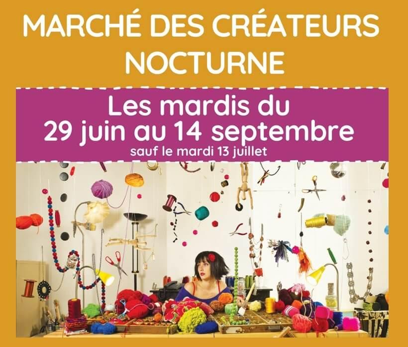 Marché nocturne des Créateurs 2021 à Saint Rémy de Provence Alpilles