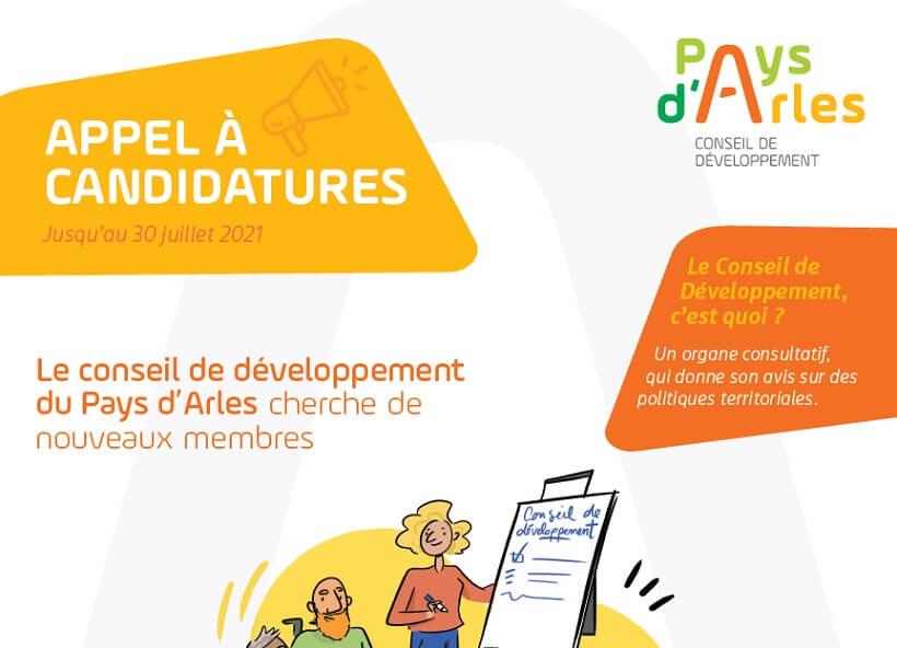 Appel à candidature pour le renouvellement du Cobseil de Développement du Pays d'Arles