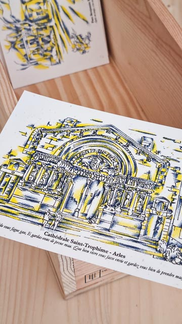 Imprimeur risographie à Maussane les Alpilles près d'Arles - Kumoriso Press